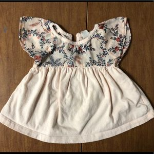 EUC Baby Gap 12-18M Floral Swing Short Sleeve Top